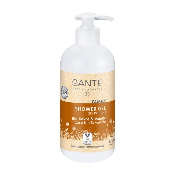 sante-family-showergel-okologisk-coco-vanilla-500-ml