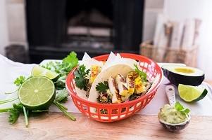 Quinoa Halloumi Tacos
