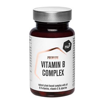 Complément de vitamines B nu3 - 100% végétal