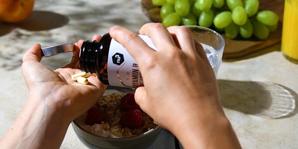 Gélules du complexe de vitamines B nu3 - prise facile et dosage optimal
