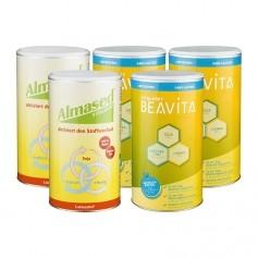 CH 2 x Almased Vitalkost, Pulver + 3 x BEAVITA Vitalkost laktosefrei, Pulver