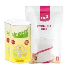 CH 2 x Almased Vitalkost, Pulver + nu3 Formula Diet, Pulver