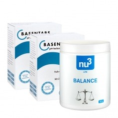 2 x Basiska tabletter ph-balans Pascoe +  nu3 syra-basbalans, tabletter