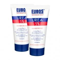 2 x Eubos Trockene Haut 5 % Urea Handcreme