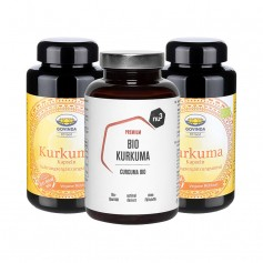 2 x Govinda, Curcuma bio gélules + nu3 Curcuma bio, gélules