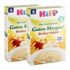 2 x HiPP Bio-Getreidebrei Guten Morgen Bircher-Müsli
