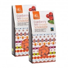 Landgarten, Cranberries enrobées de chocolat à l'orange