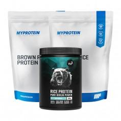 2 x MyProtein Reisprotein + nu3 Reisprotein