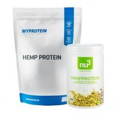 2 x MyProtein, Protéines de chanvre + nu3 Protéine de chanvre bio
