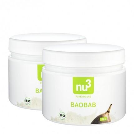 2 x nu3 bio baobab pulver nur bei nu3 kaufen. Black Bedroom Furniture Sets. Home Design Ideas