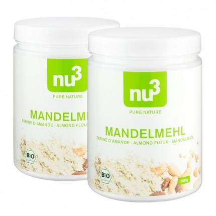 2x Mandelmehl entölt von nu3