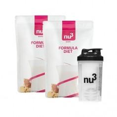 2 x nu3 Formula Diet + nu3 Shaker