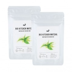 nu3 Organic Cooking Matcha double pack Powder