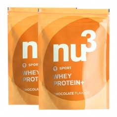 nu3 Sports Whey Protein+ Schoko Doppelpack