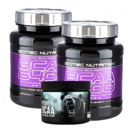 2 x Scitec BCAA 6400 + nu3 Power BCAA
