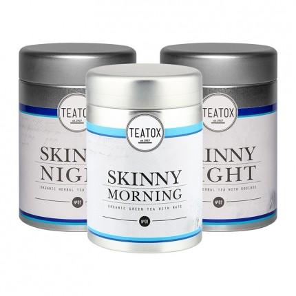 Teatox Day & Night: 2 x Skinny Detox Good Night Tea + Good Morning Tea