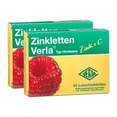 Verla, Zinclettes framboise, pastilles