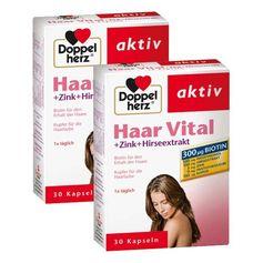 Doppelherz Haar Vital Doppelpack, Kapseln