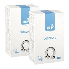 2x nu3 Omega-3 - vegan, kapslar