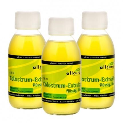 Bio Colostrum-Extrakt (3 x 125 ml)