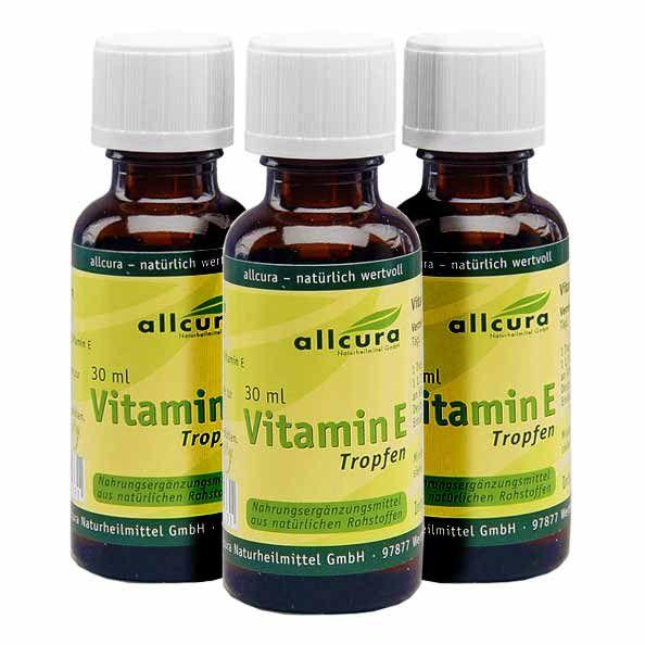 allcura vitamin e tropfen zum besten preis bei nu3 kaufen. Black Bedroom Furniture Sets. Home Design Ideas