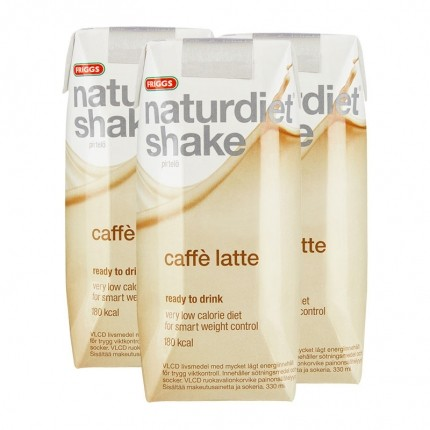 naturdiet shake caffe latte
