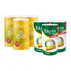 Yokebe Aktivkost Classic & BEAVITA Vitalkost