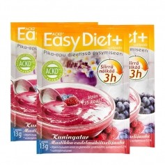 3x ACKD Easy Diet Drottningskräm