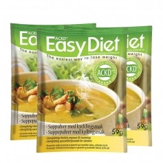 3x ACKD Easy Diet Kycklingsoppa