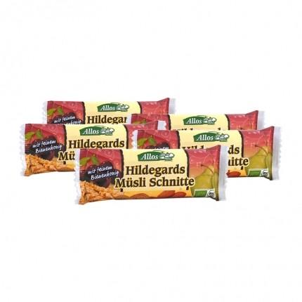 Bio Hildegards Müsli Schnitte (5 x 30 g)