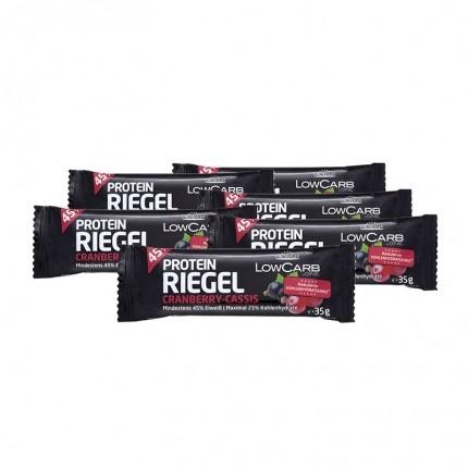 6 x Layenberger LowCarb.one Protein-Riegel Cranberry-Cassis günstig kaufen