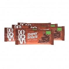 6x CocoVi SuperSnack -luomupatukka, suklaa