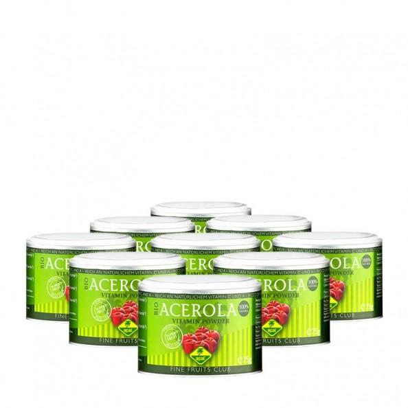 fine fruits acerola bio pulver g nstig im 9er pack kaufen. Black Bedroom Furniture Sets. Home Design Ideas