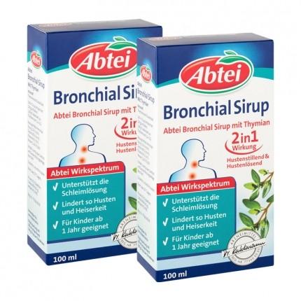 Bronchial Sirup + Thymian (2 x 100 ml)