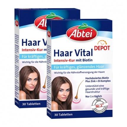 2 x Abtei Haar Vital Depot, Tabletten