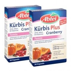 2 x Abtei Kürbis plus Cranberry, Kapseln