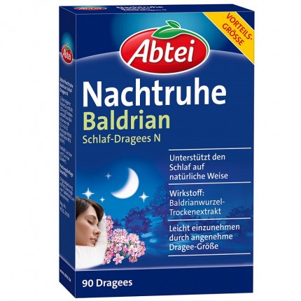 Nachtruhe Baldrian + Hopfen (80 Dragees)