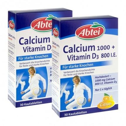 Osteo Vital Calcium + Vitamin D3 (2 x 30 Kautabletten)