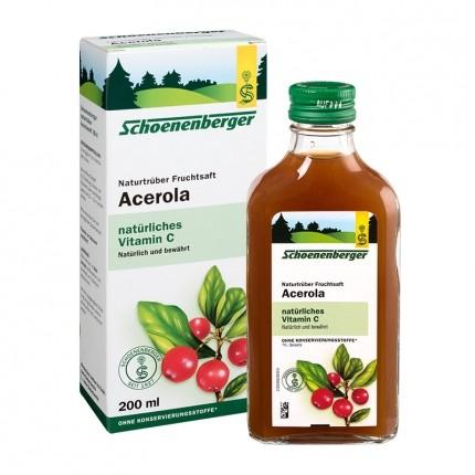 Schoenenberger Acerola, Saft (200 ml)