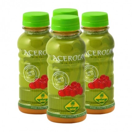 Fine Fruits Club Bio Acerola Smoothie (4 x 250 ml)