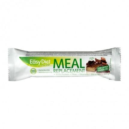 6 x ACKD Easy Diet Bar, dobbelt-chokolade