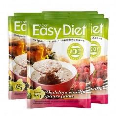 6 x ACKD Easy Diet Hindbær og vaniljegrød