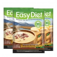 3 x ACKD Easy Diet Savuporokeitto