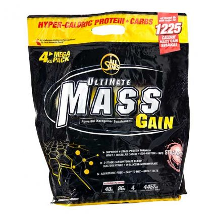 All Stars Ultimate Mass Gain Strawberry Powder