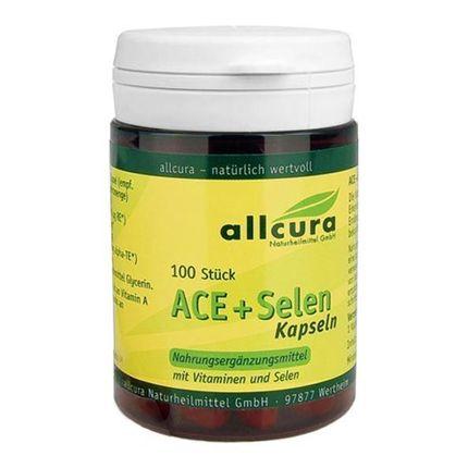 Gélules ACE + sélénium d'allcura