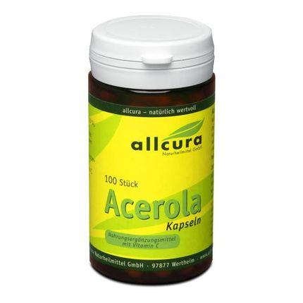 allcura Acerola 400 mg, Kapslar (gelatinfri)