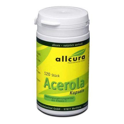 allcura Acerola 570 mg, Kapslar