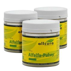 allcura, Alfalfa bio, lot de 3, poudre