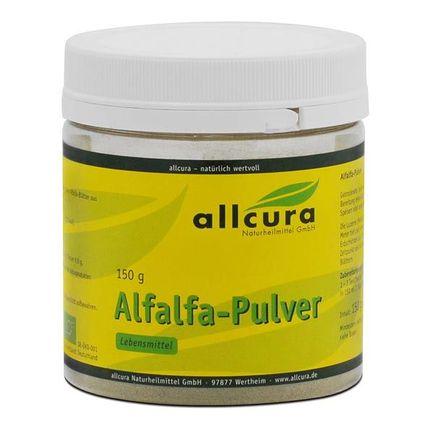 allcura Alfalfa Ekologiskt, Pulver
