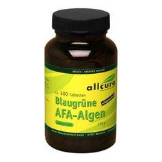 allcura, Comprimés aux algues AFA bleues vertes